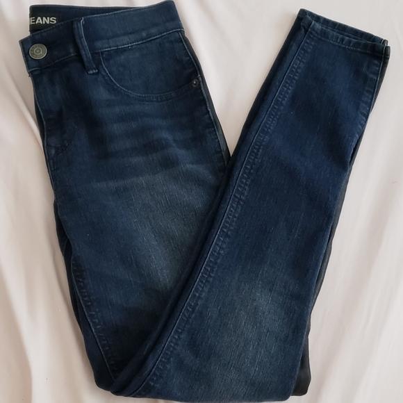 Express Denim - Express Midrise Skinny Jean
